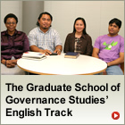 Graduate School of Governance Studies Interviews