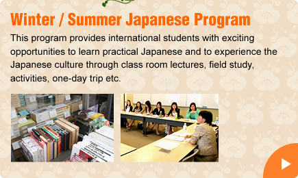 Winter / Summer Japanese Language Program