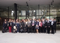 Commemorative photo with all the participants (before the Global Front, which was the meeting venue)