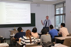 Lecture by Dr. Heinrich Menkhaus, Professor of the School of Law
