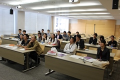 Meeting for presentation of research results (4F, Building A, Ikuta Campus)