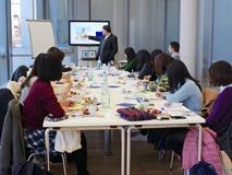 """Meiji University International Student Center] Holding of an """"EU"""