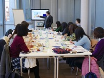 Meiji University International Student Center] Holding of an