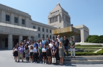 Field trip to the National Diet
