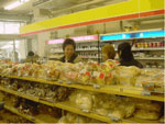 パンやお弁当も種類が豊富